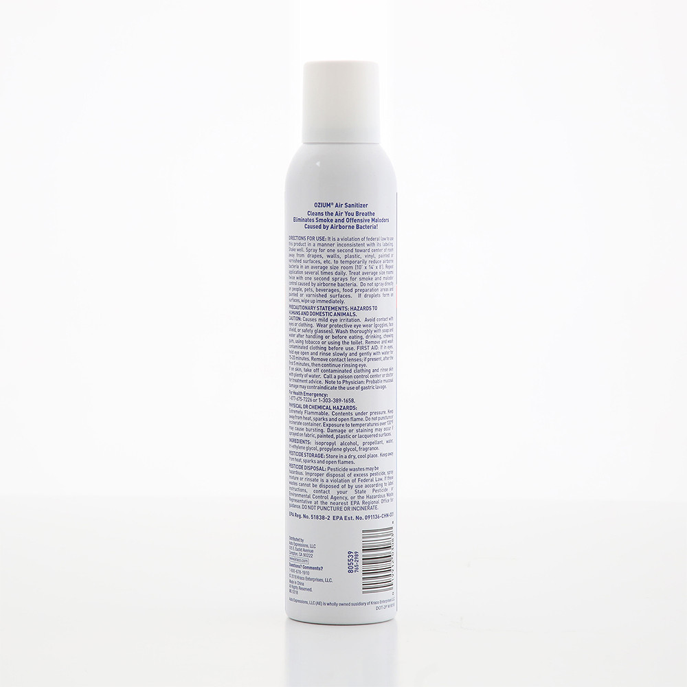 Bình xịt khử mùi Ozium Air Sanitizer Spray 8.0 oz (227g) Original/805539