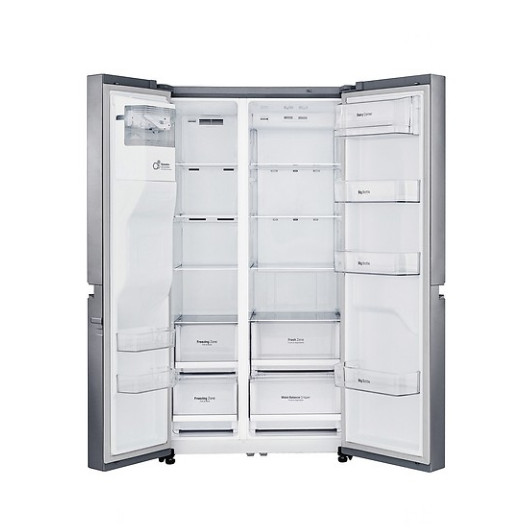 Tủ lạnh LG SBS GR-D247JDS Inverter 601 Lít (HÀNG CHÍNH HÃNG) + Tặng bình đun siêu tốc