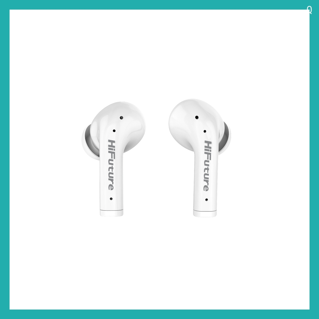 Tai nghe Bluetooth 5.0 - Tai nghe TWS - TrueAir ANC - HiFuture - Best Sound- HiFuture Soft Bass/Stereo/IPX5/Up to 25hr/Auto connect (Hàng chính hãng)