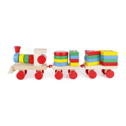 Tảu thả hình 3D - Giáo cụ montessori SK