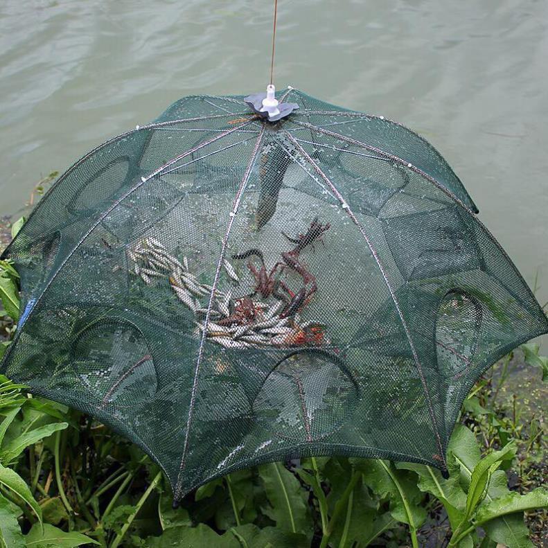 Lưới Đánh Bắt Cá Bát Quái 8 Cửa Công Nghệ Mới