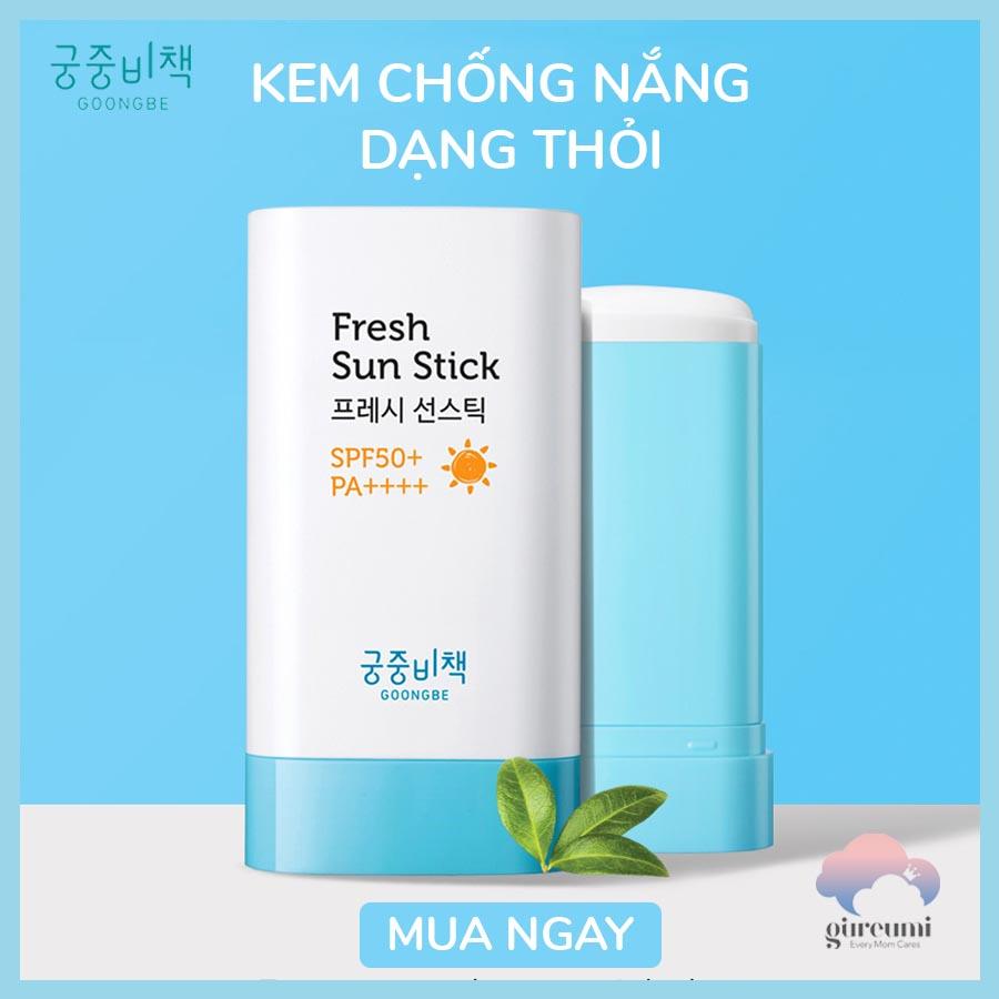 Kem chống nắng dạng Stick Goongbe SPF50+ 19g