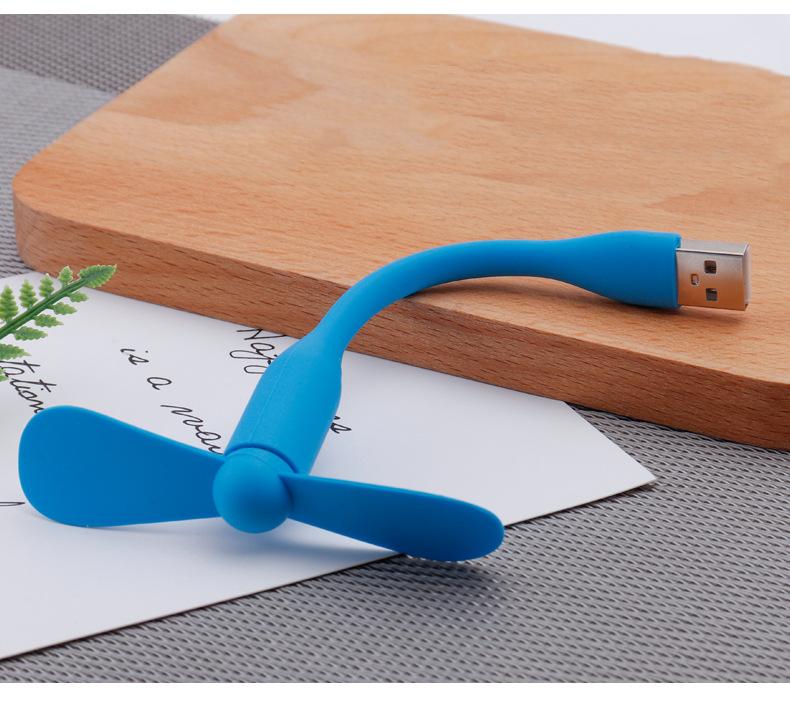 Quạt Mini USB 2 cánh siêu mát, tiện lợi - 4 Loại Cổng Kết Nối ( USB, Iphone, Android, Type C )