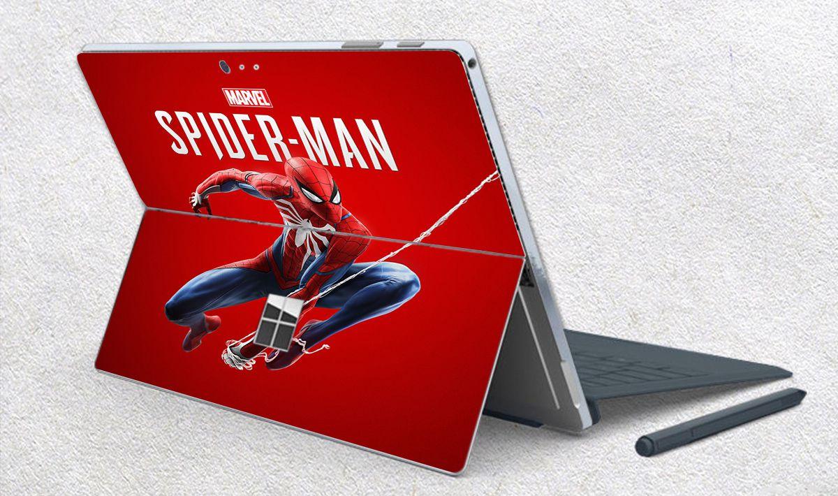 Skin dán hình người nhện Spiderman cho Surface Go, Pro 2, Pro 3, Pro 4, Pro 5, Pro 6, Pro 7, Pro X