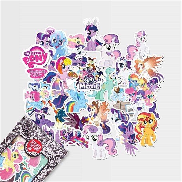 Ngựa Pony - Set 30 sticker hình dán
