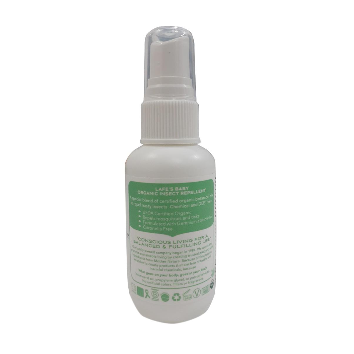 Tinh dầu chống muỗi cho bé Lafes Organic 59ml