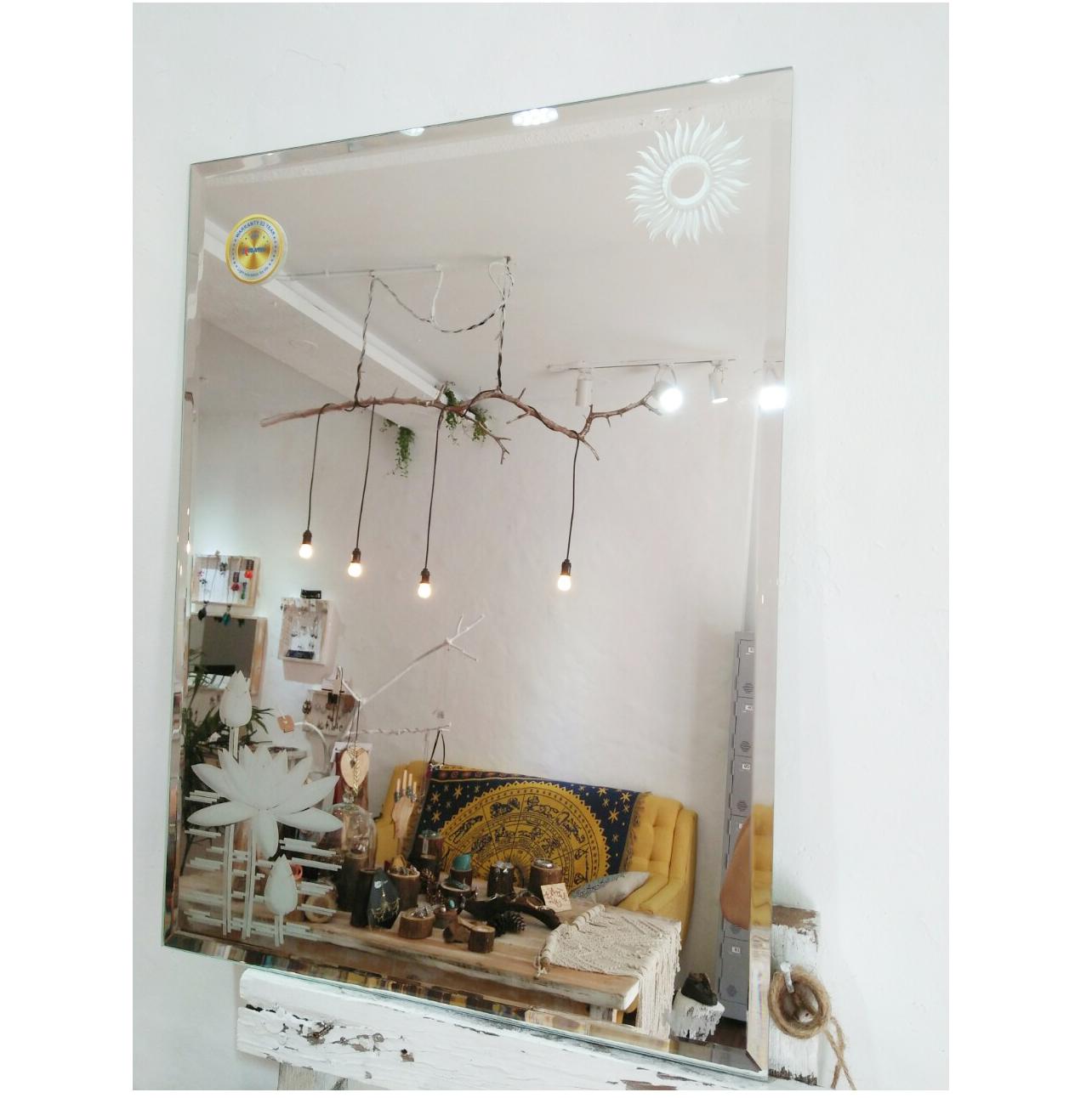 [KIBATH 212] Gương soi phòng tắm KT 45x60 cm