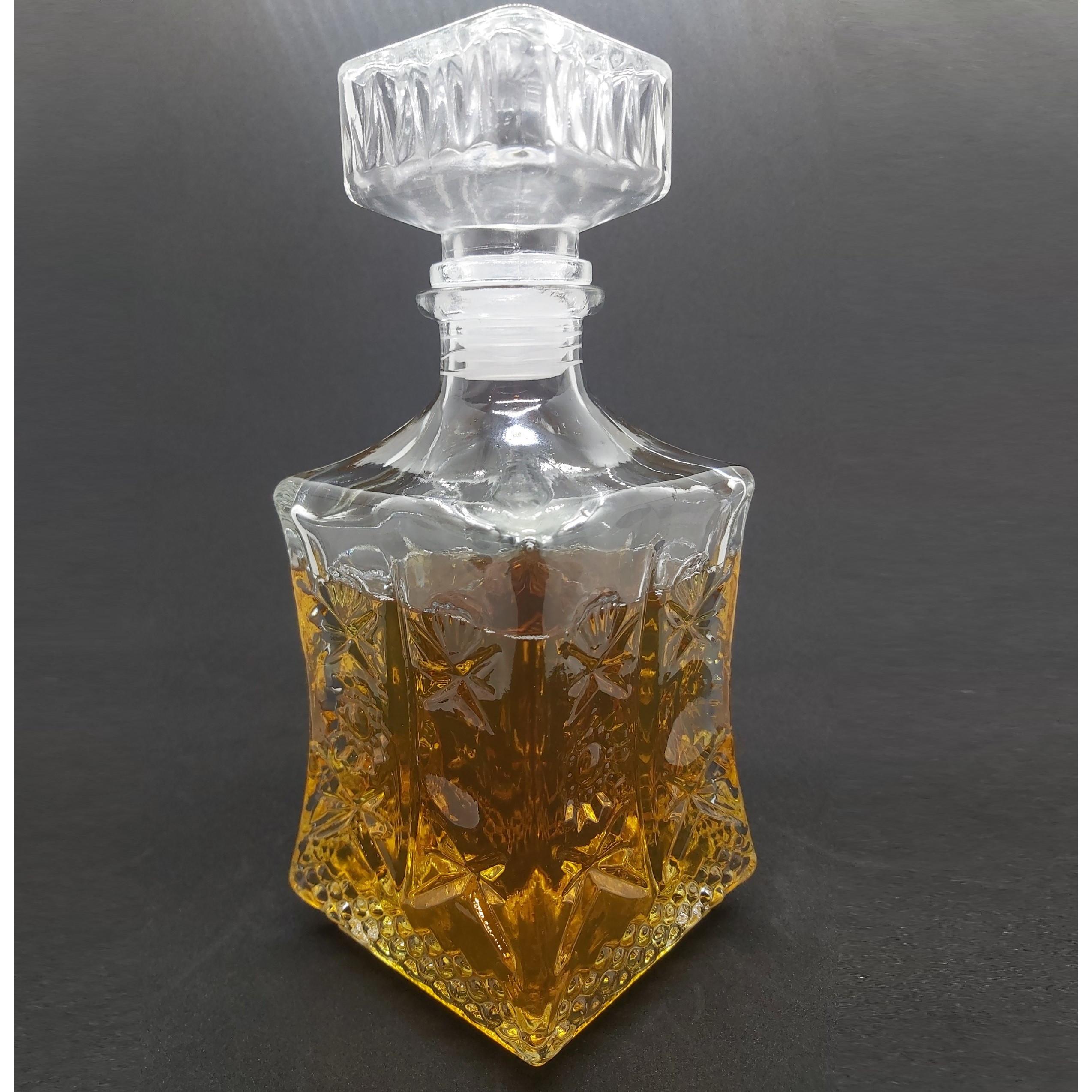 Chai Thủy Tinh đựng Rượu cao cấp Mẫu VUÔNG VÁT EO 750ML - Vỏ Chai 750ml thủy tinh cao cấp, bình thủy tinh 750ml siêu trong suốt