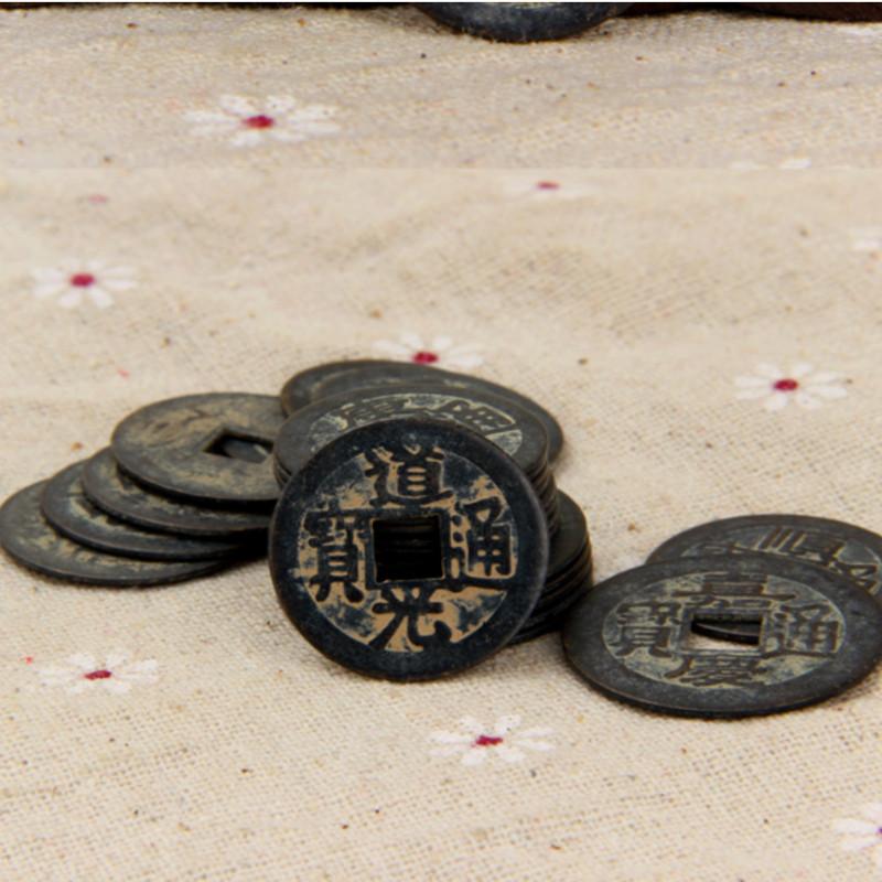 Bộ 5 đồng xu ngũ đế phong thủy cầu tài lộc 206567