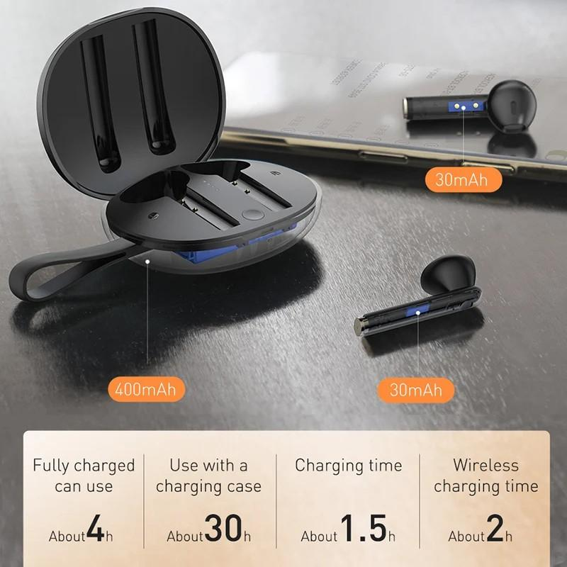 Tai nghe True Wireless Baseus Encok W05- hàng chính hãng.