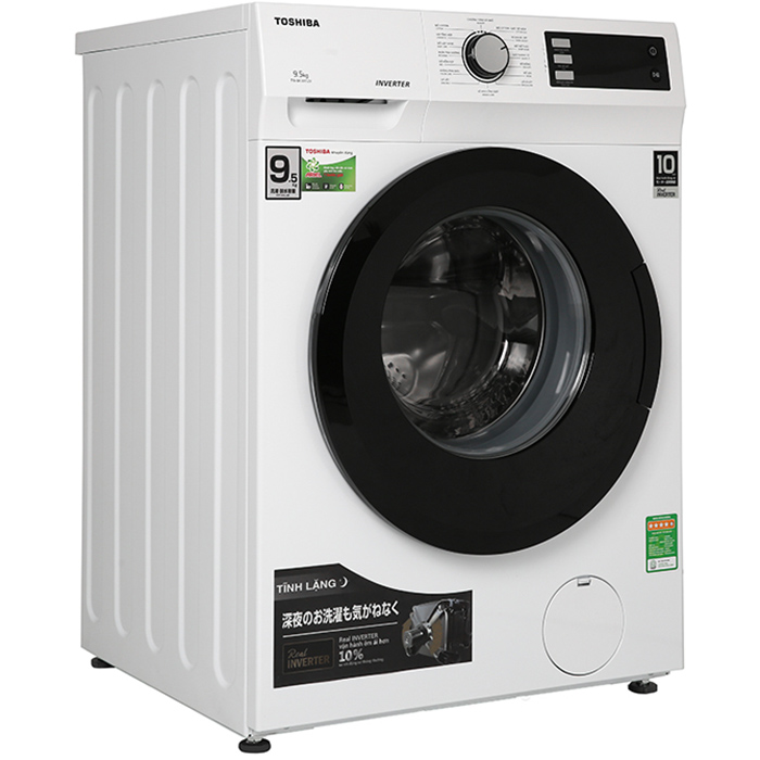 Máy giặt Toshiba Inverter 9.5 Kg TW-BK105S2V(WS) - Chỉ giao HCM