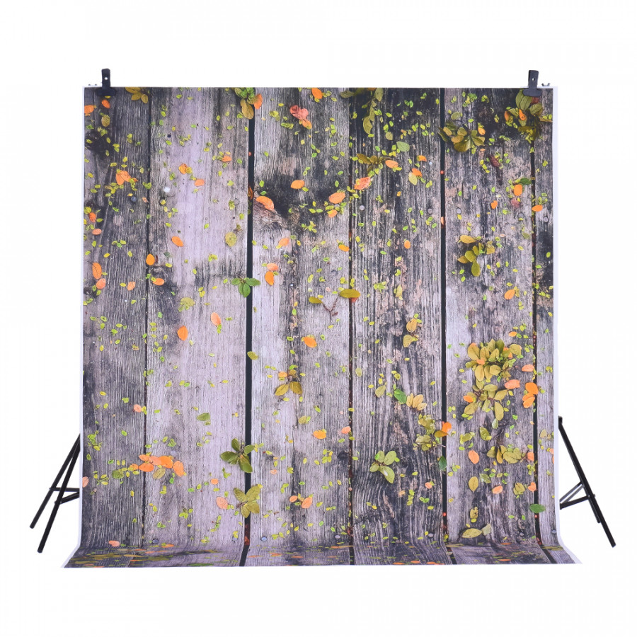 Andoer 1.5  2m Photography Background Backdrop Digital Printing Wood Fallen Leaf Pattern for Photo Studio Pattern 14