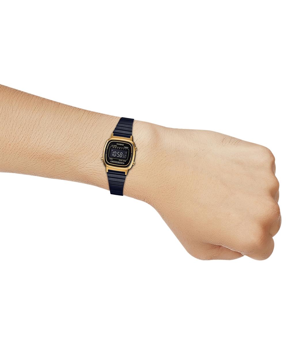 Đồng hồ nữ dây kim loại Casio LA670WEGB-1BDF