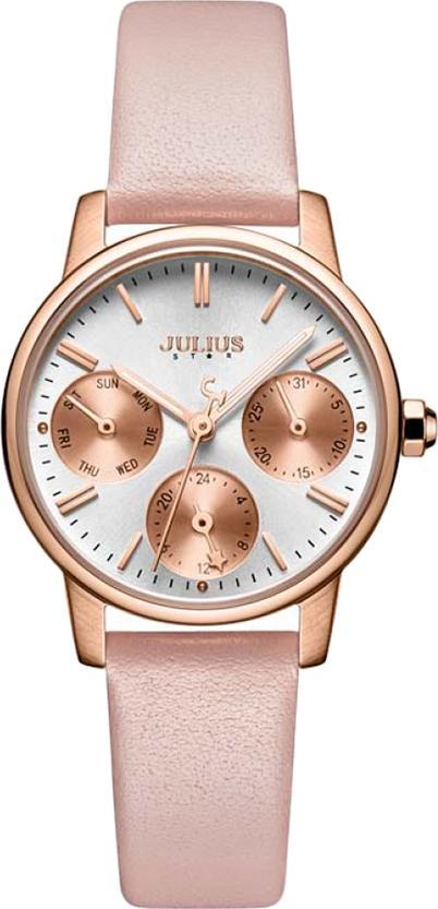 Đồng Hồ Nữ Dây Da Julius Star JS-023B