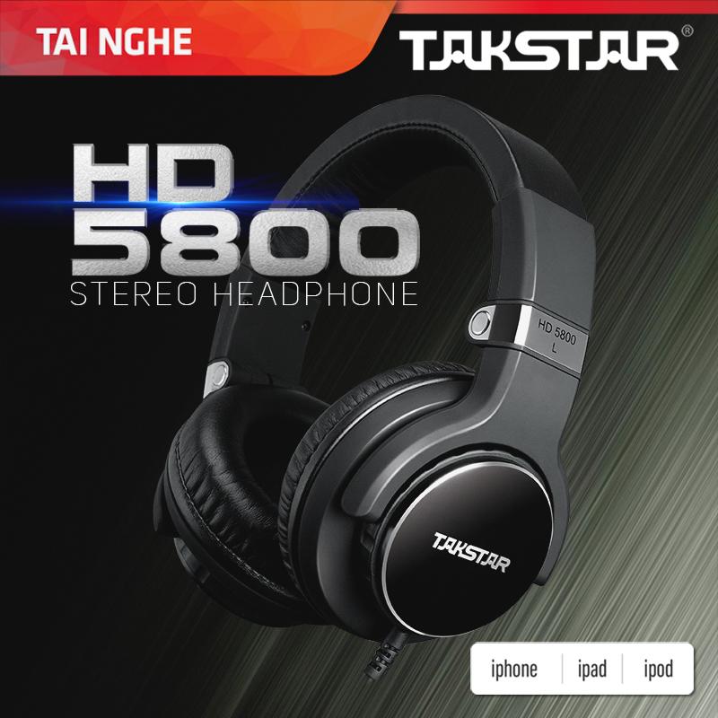Tai nghe kiểm âm TAKSTAR HD5800 - AVSTAR , tai nghe chụp tai, tai nghe chất lượng cao- hàng chính hãng