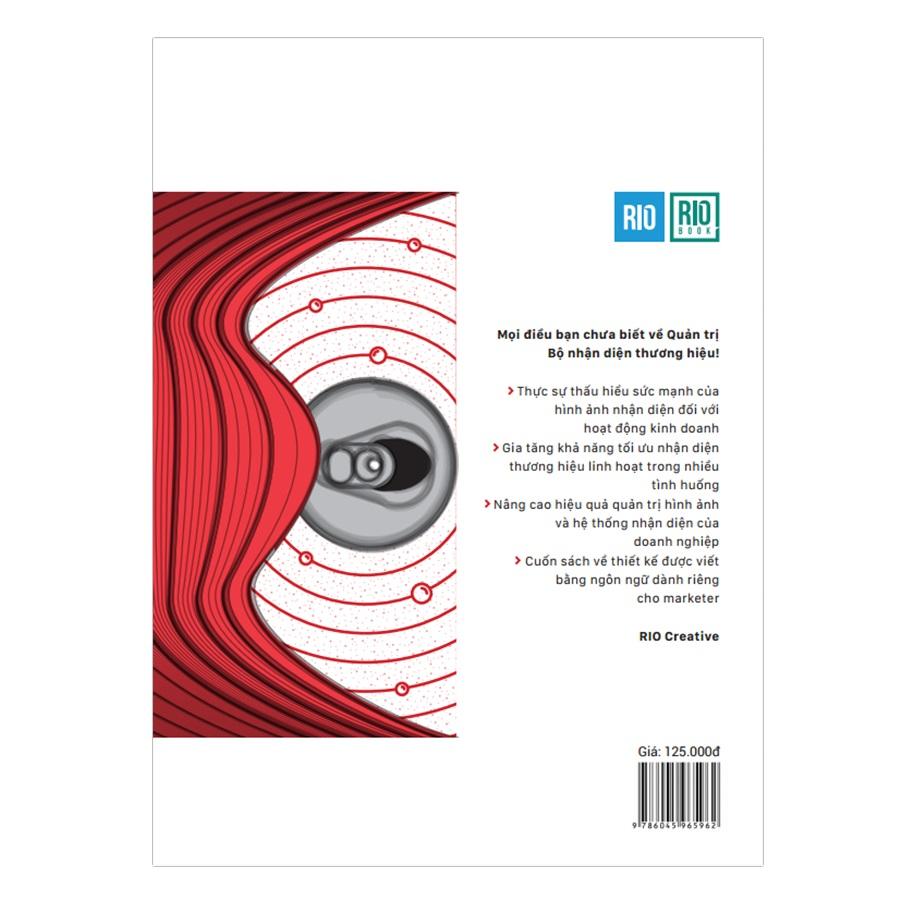 RIO Book 2: Nhận Diện Thương Hiệu - Những Điểm Chạm Thị Giác (Tái Bản)