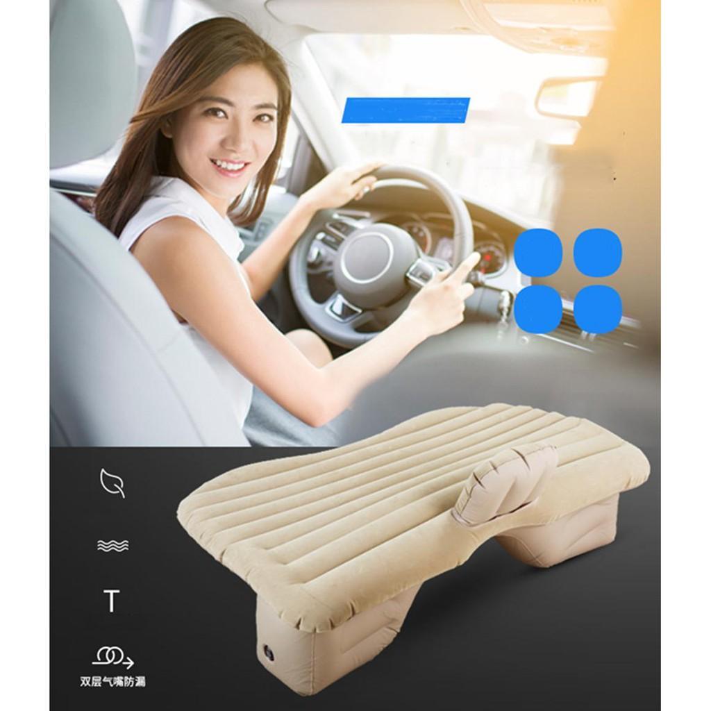 Nệm(đệm) cao su cao cấp dùng trên xe ô tô, tại nhà,pinic di chuyển dễ dàng