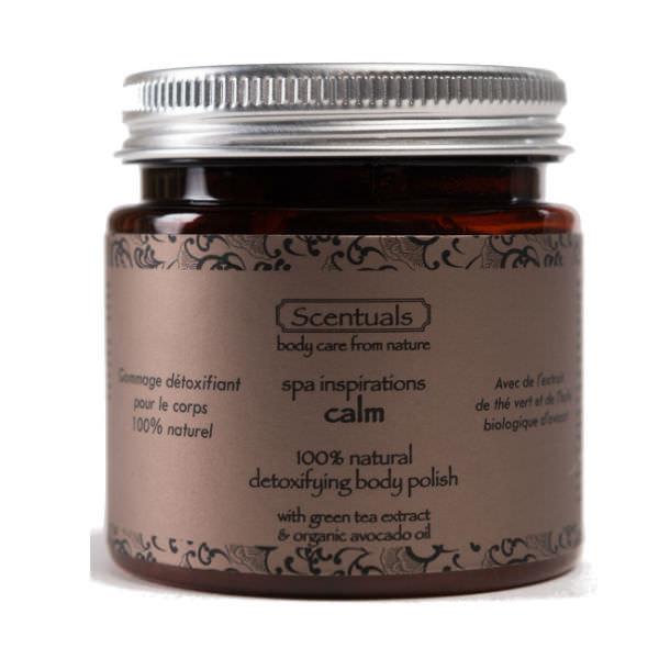 Tẩy Tế Bào Chết Spa Calm Spa Inspirations Calm Detoxifying Body Polish Scentuals (125g)