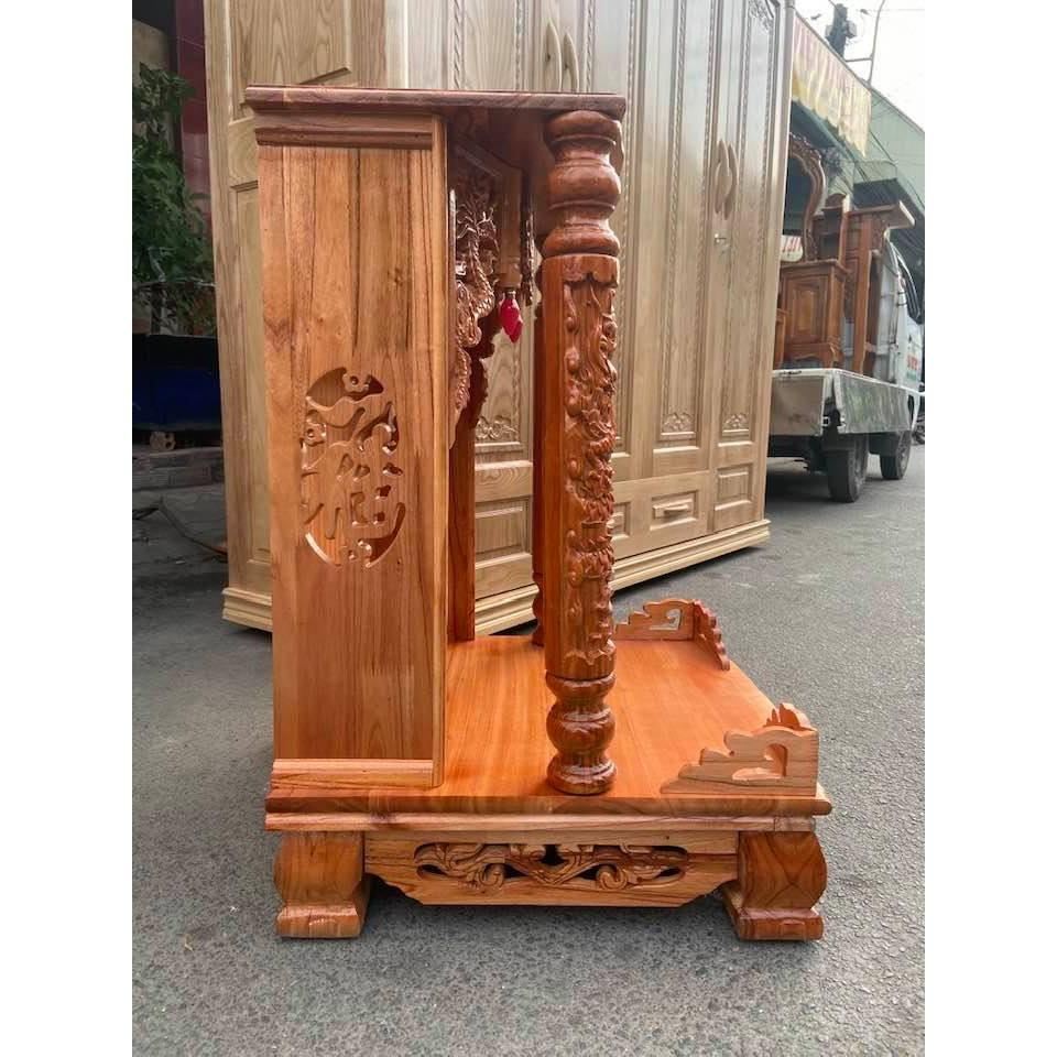 Bàn thờ thần tài ông địa ngang 56cm BTX5681QD