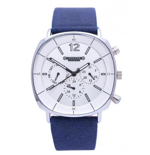 Đồng hồ Nam Julius Dây da Ju1245 Xanh
