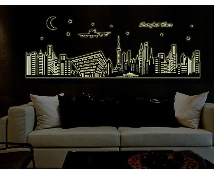 Decal dán tường Dạ quang Thượng Hải AmyShop DDQ012 (56 x 160 cm)