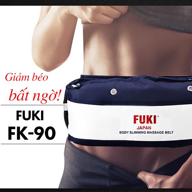 Máy massage bụng FUKI Nhật Bản FK90 - Xanh đen