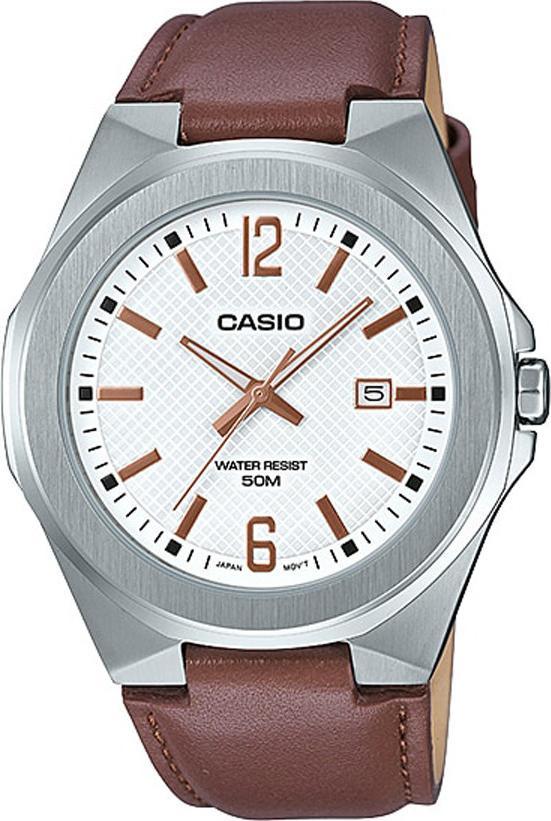 Đồng hồ nam dây da Casio Standard chính hãng MTP-E158L-7AVDF