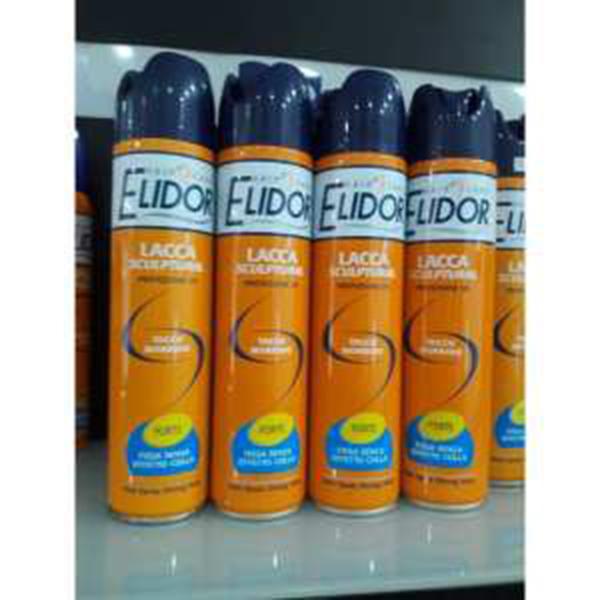 Keo xịt tóc giữ nếp Elidor Hair Spray Strong Hold 300ml tặng kèm móc khóa