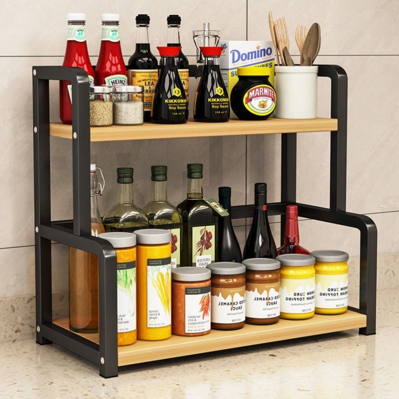 Kệ đựng gia vị thiết kế tiện ích cho phòng bếp gọn gàng FM - 04
