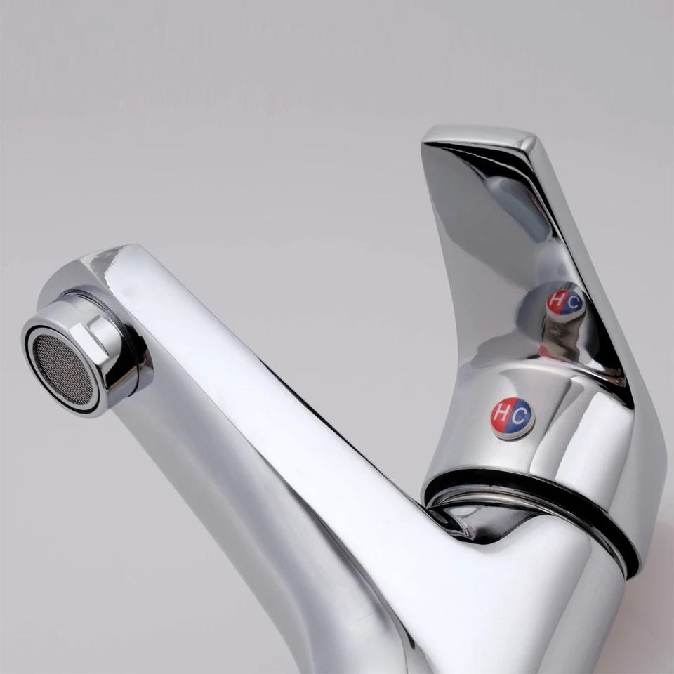 Vòi Lavabo nóng lạnh đồng thau cao cấp_Vòi lavabo cao cấp đồng thau_vòi nóng lạnh chậu rửa mặt 1 lỗ_ Vòi Chậu rửa Nóng Lạnh