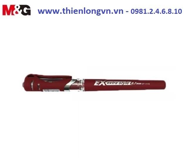 Bút nước - bút gel 0.7mm M&G - GP1115 màu đỏ