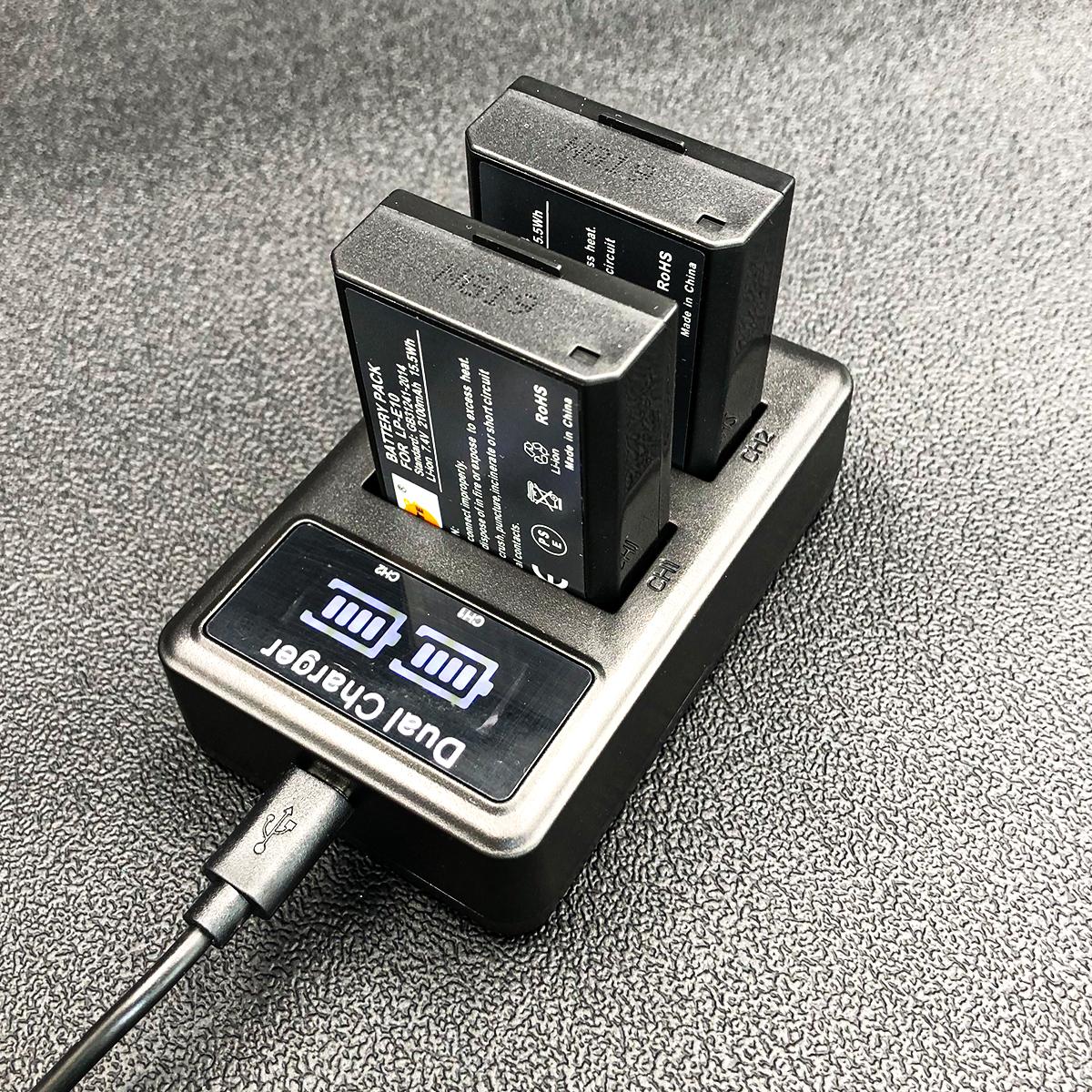 Sạc pin đôi LP-E8 cho máy ảnh Canon 550D 600D 650D 700D
