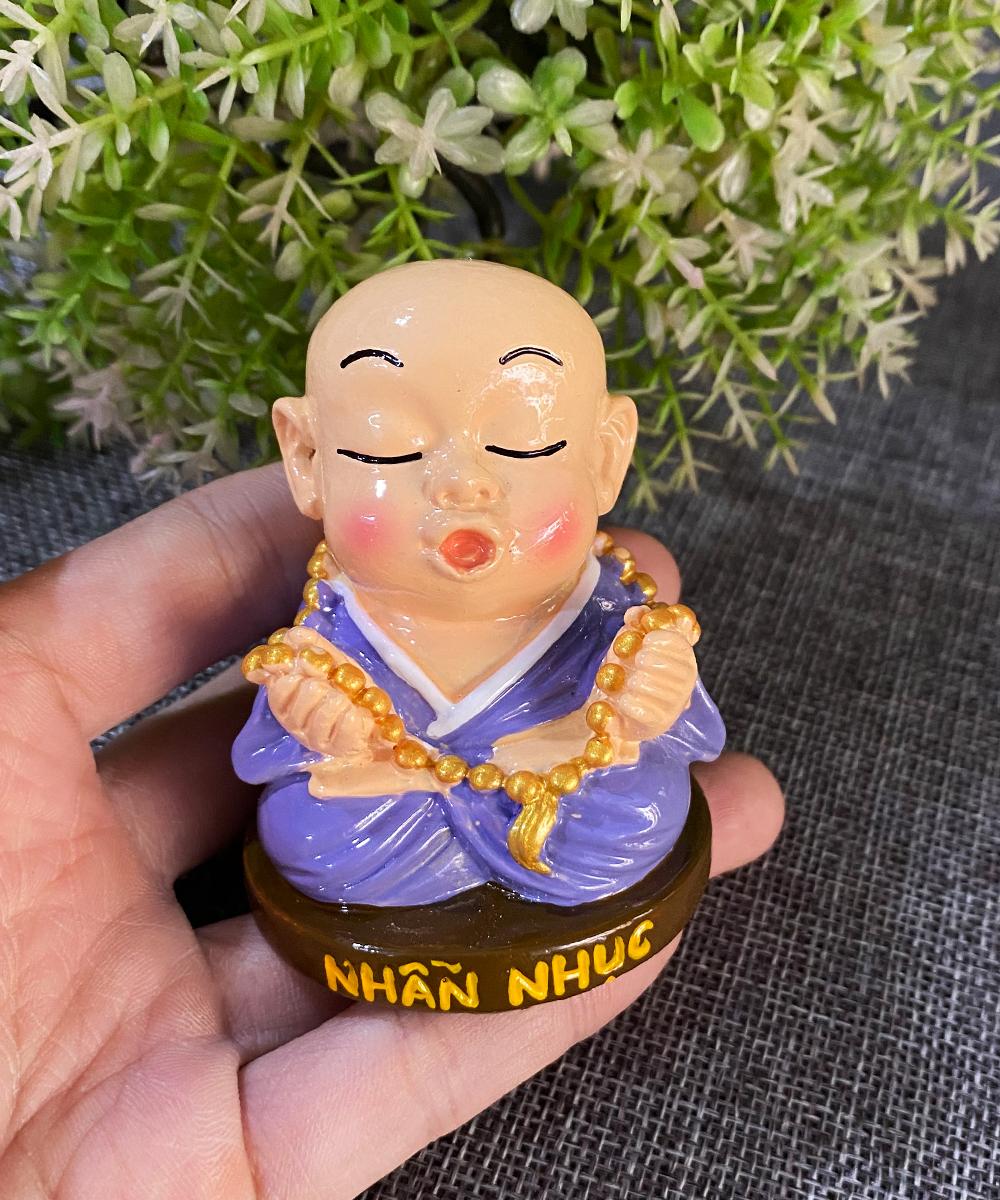 Tượng chú tiểu Lục Độ 7cm hàng Việt Nam