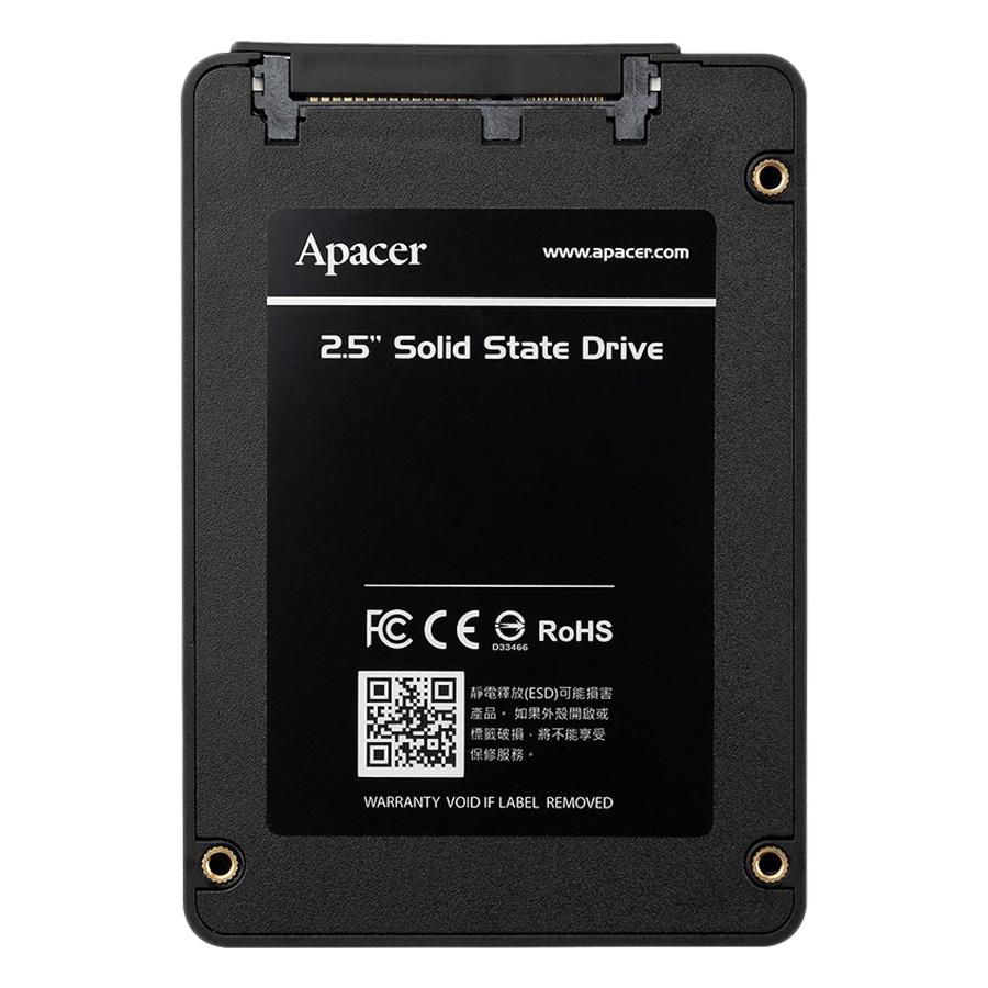 Ổ Cứng SSD Sata III 2.5 Inch 120GB Apacer AS340 - Hàng Chính Hãng