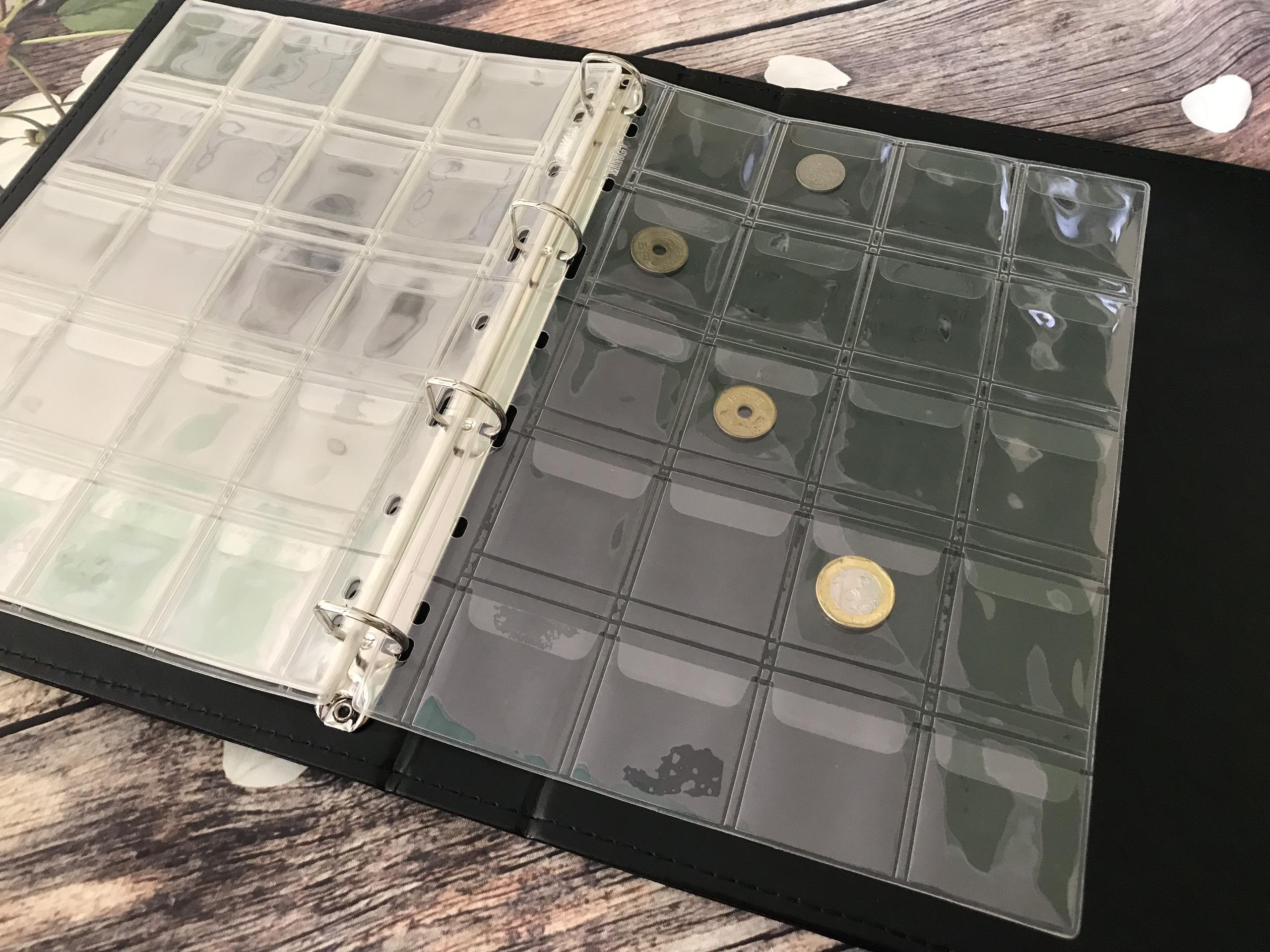 Combo 5 Phơi Đựng Tiền Xu PCCB Có  20 Ngăn Trong Dùng Holder CB5PTX20T