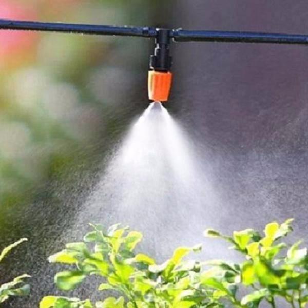 Bộ tưới cây tự động 20 đầu phun sương kèm van nước hẹn giờ