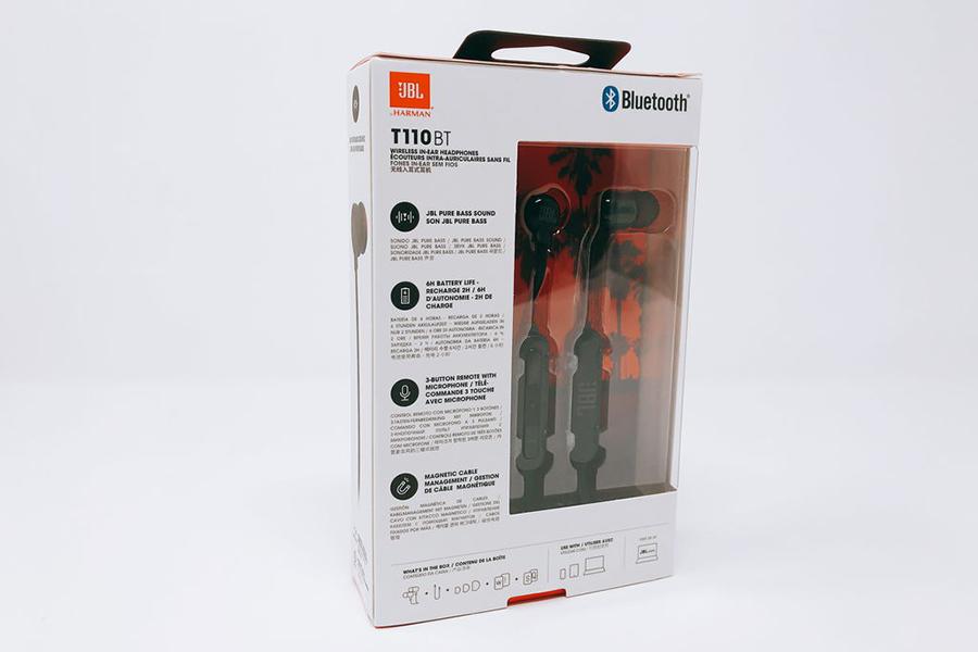 Tai Nghe Bluetooth Thể Thao JBL T110BT - Hàng Chính Hãng