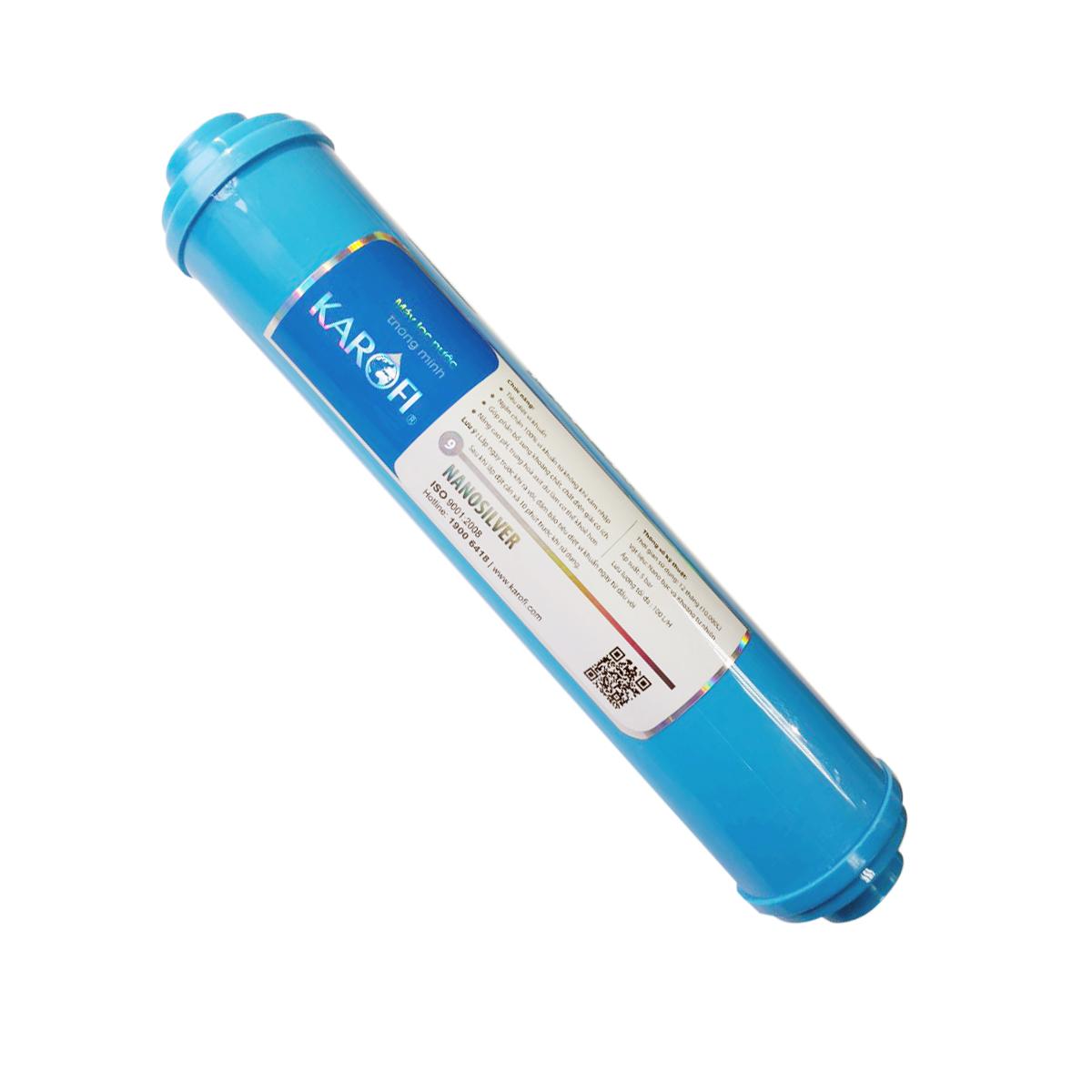 Combo 8 lõi lọc nước dành cho máy lọc Karofi 8 cấp ( Lõi 123+RO+Nanosilver+Mineral+Gac T33+Far Infrared)