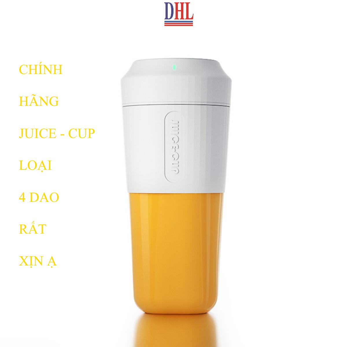 Máy xay sinh tố cầm tay mini, cốc xay sinh tố đa năng JUICE-CUP hàng chính hãng