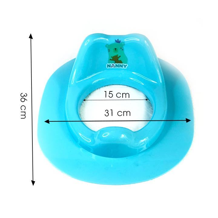 Bệ lót thu nhỏ bồn cầu cho bé (N287-PK)