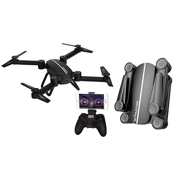 Máy bay quay phim điều khiển từ xa Flycam SkyHunter X8 camera 200W kết nối wifi tới điện thoại