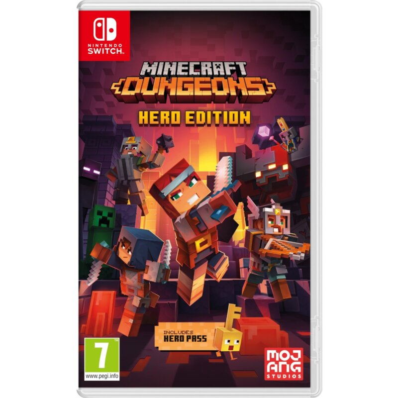 Băng game Minecraft Dungeons Hero Edition