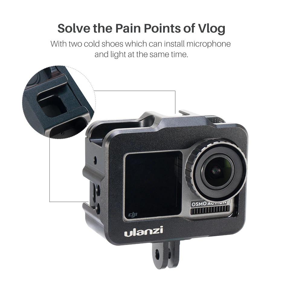 Khung dành cho goPro Ulanzi Vlog Cage for DJI OSMO ACTION (OA-1) - Hàng chính hãng