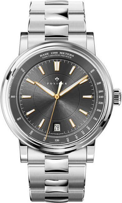 Đồng hồ nam chính hãng Poniger P5.17-6