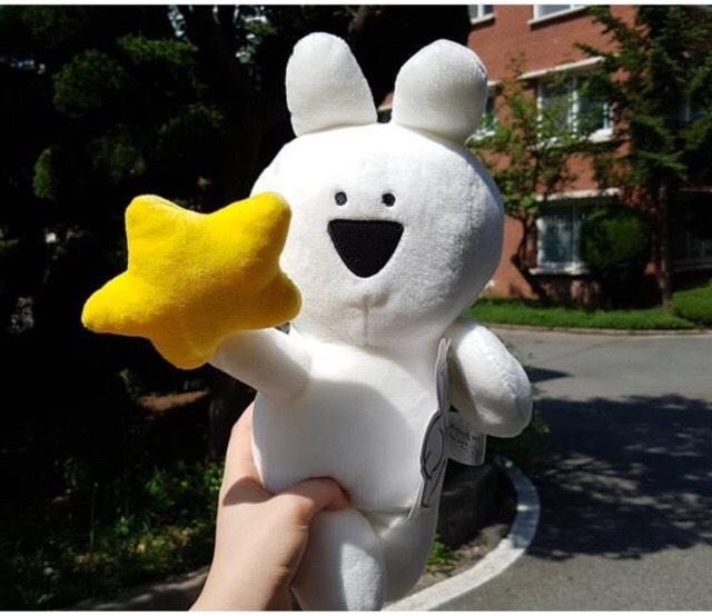 Thỏ bông Extremely Over Action Rabbit 30cm hàng Hàn cao cấp (giao mẫu ngẫu nhiên)