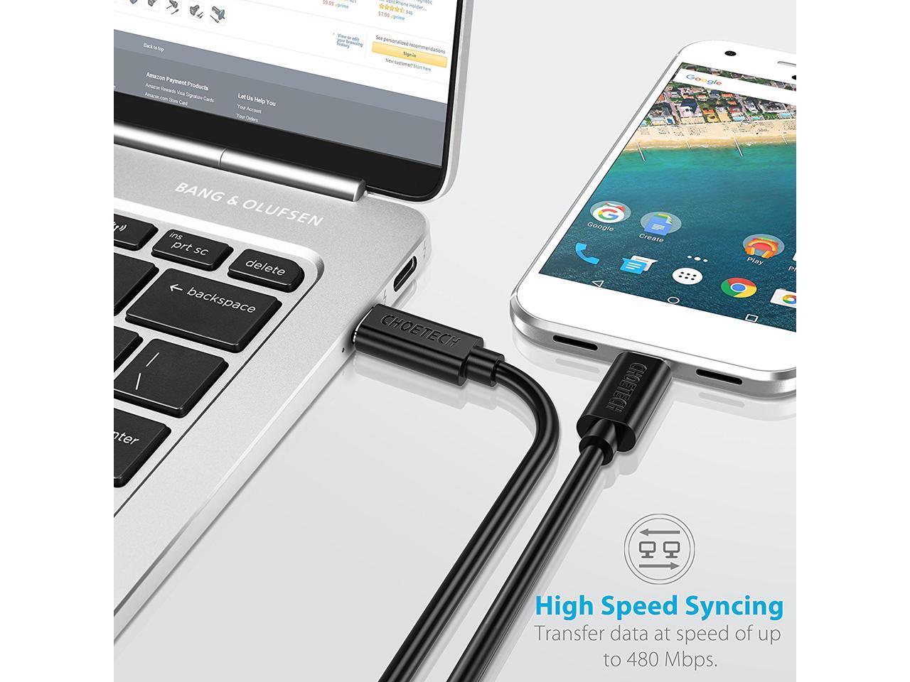 Dây cáp sạc nhanh Type-C dài 100cm hiệu CHOETECH CC002 Type C to Type C PD cho Smartphone / Tablet / Macbook / Laptop Type C (3A, công suất 60W, truyền data tốc độ cao) - Hàng chính hãng
