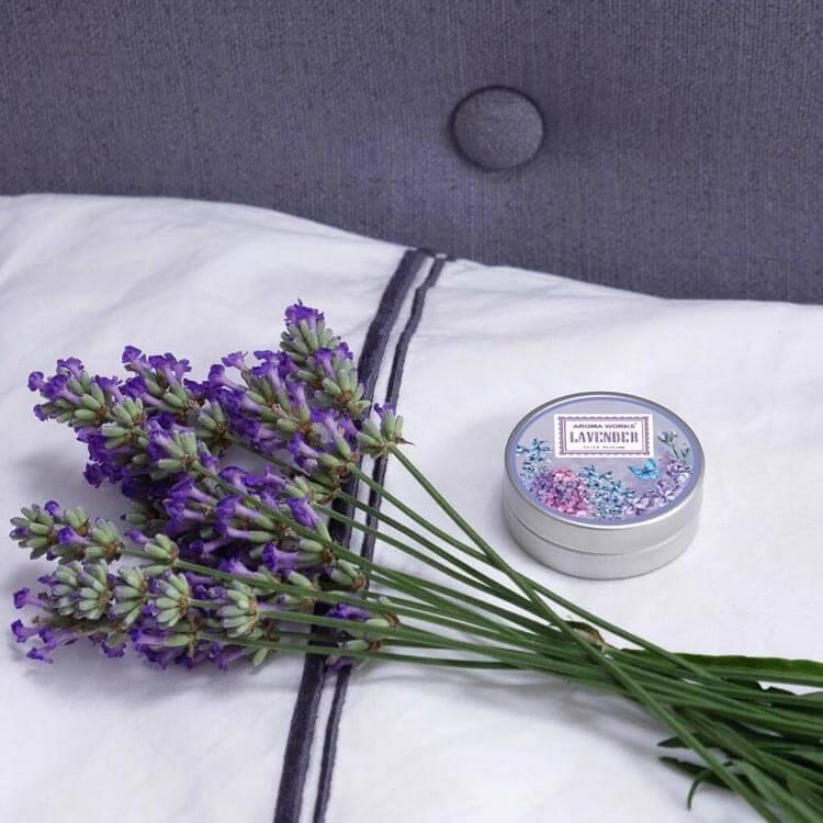 Nước Hoa Khô Aroma Works Solid Perfume 15g - Lavender