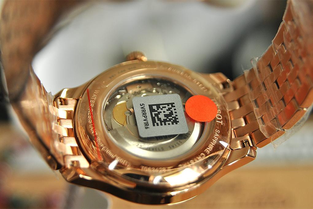 Đồng Hồ Nam Dây Thép Không Gỉ Tissot T063.428.33.038.00 (40mm) - Vàng Hồng