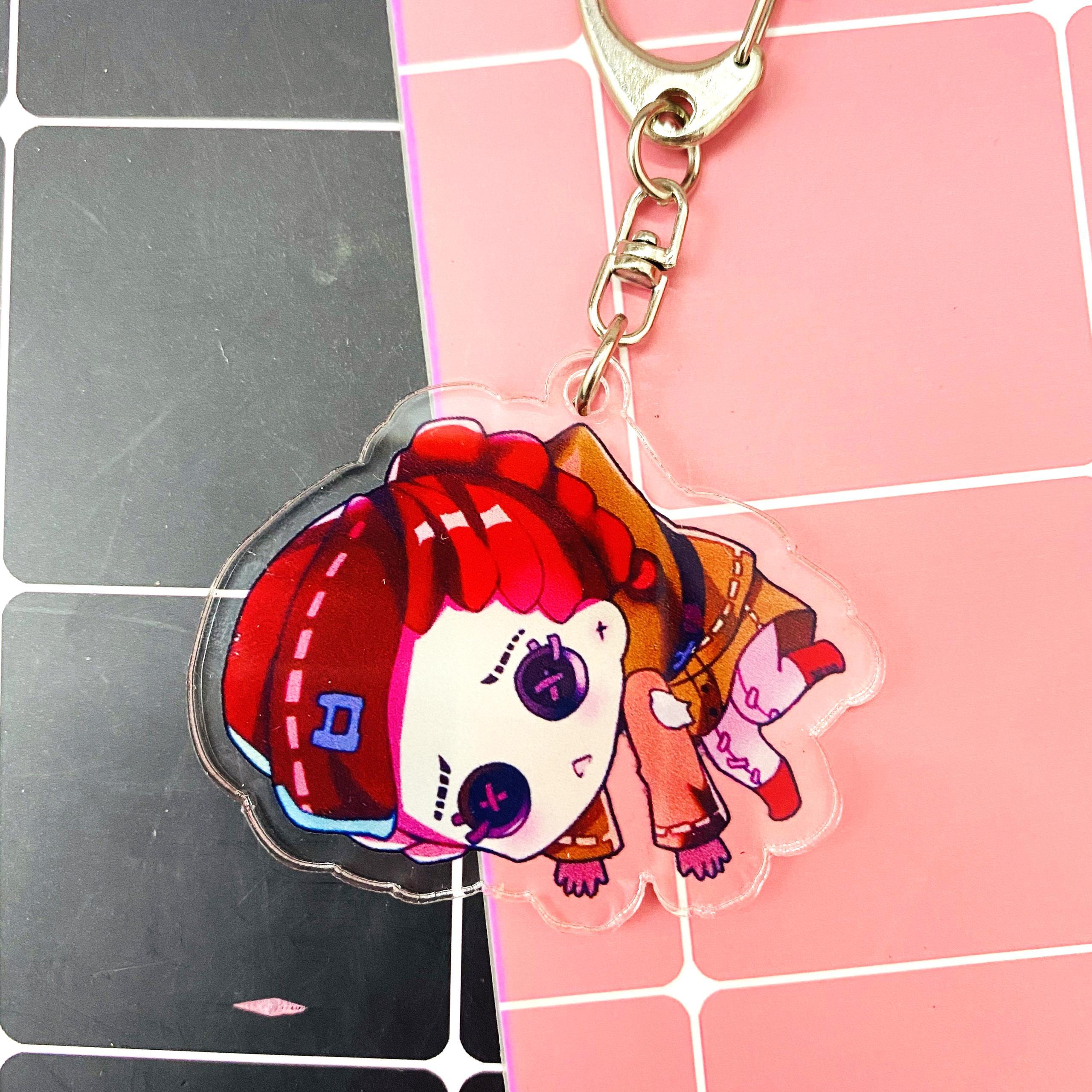 ( Mica trong acrylic ) ( Mẫu 1) Móc khóa anime Identity V Nhân cách thứ năm ver treo chibi anime