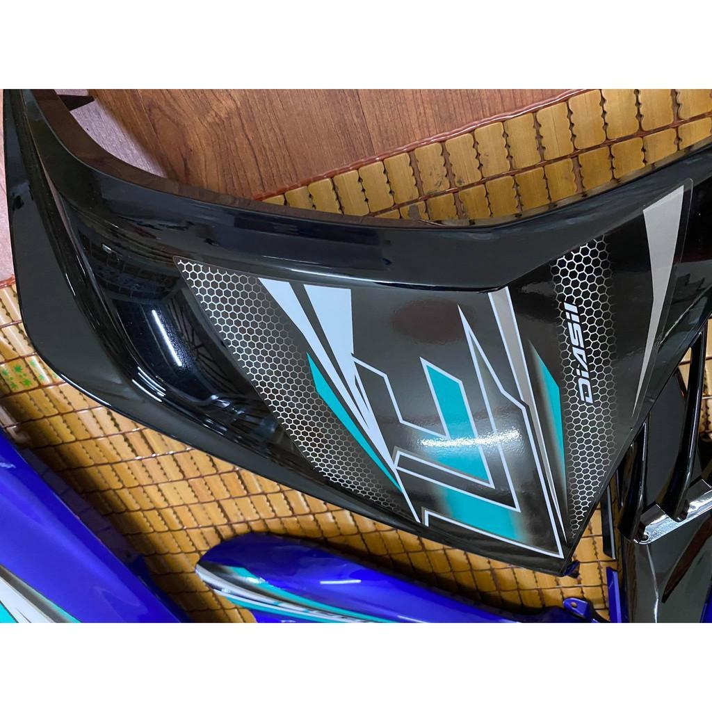 Dàn áo Yamaha Exciter 135 Zin màu Đen